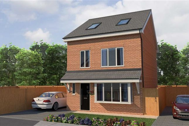 Thumbnail Detached house for sale in Morris Meadow, Whitefield, Manchester