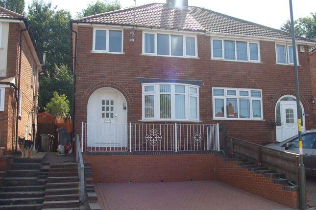 Thumbnail Semi-detached house for sale in Nigel Avenue, Northfield