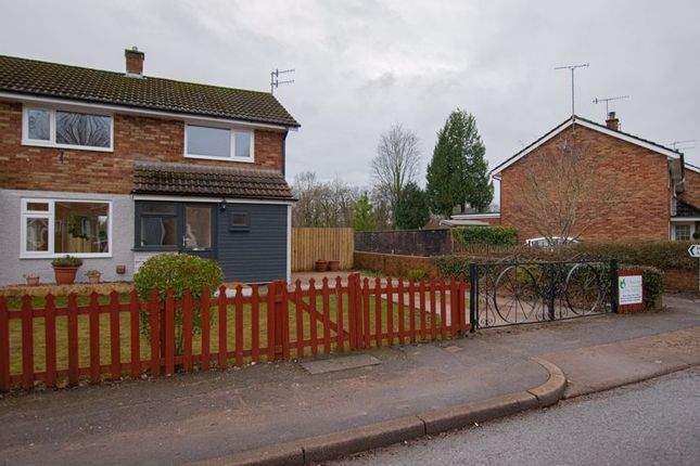 Thumbnail End terrace house to rent in Caernarvon Crescent, Llanyravon, Cwmbran