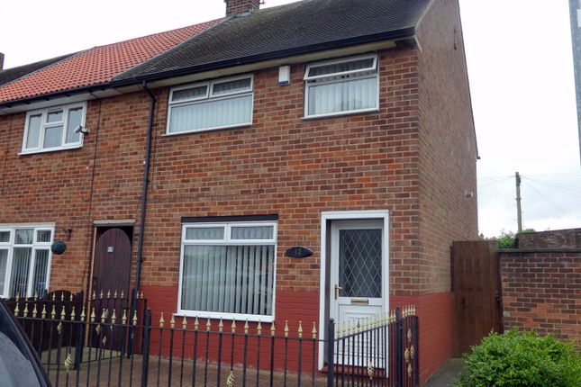 Thumbnail End terrace house to rent in Bradford Avenue, Greatfield, Hull
