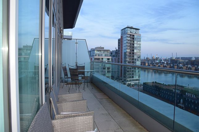 Thumbnail Duplex to rent in Adriatic Apartments, Western Gateway, London