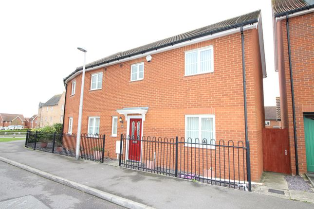 Thumbnail End terrace house for sale in The Chimes, Rochester