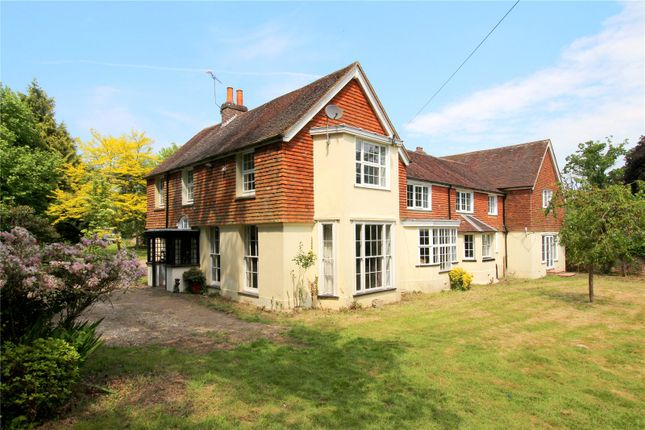 Thumbnail Detached house for sale in Felcourt Road, Lingfield, Surrey