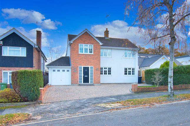 Thumbnail Detached house to rent in Lodge Avenue, Elstree, Borehamwood