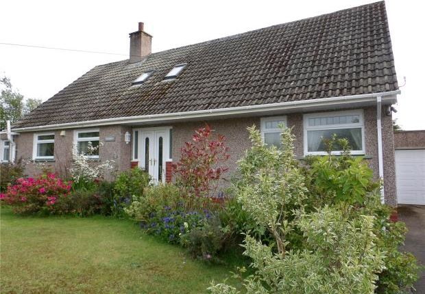 Thumbnail Detached bungalow for sale in Leacrest, Keys Brow, High Harrington, Workington