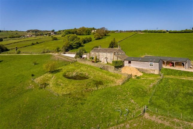 Thumbnail Farmhouse for sale in Crow Wood Farm, Crow Wood Lane, Holywell Green