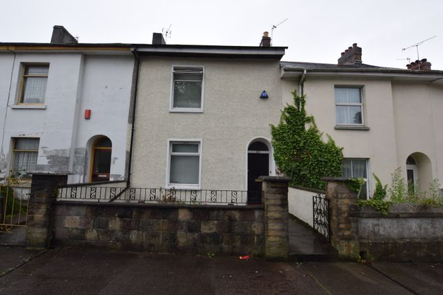 Thumbnail Terraced house for sale in North Road West, Plymouth, Devon
