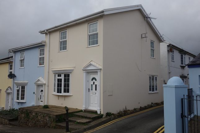 Thumbnail End terrace house to rent in Queens Square, Haverfordwest