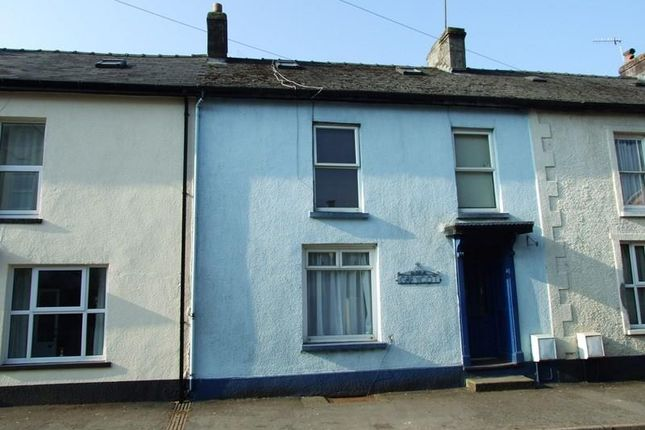 Thumbnail Terraced house for sale in Dolecoed Road, Llanwrtyd Wells