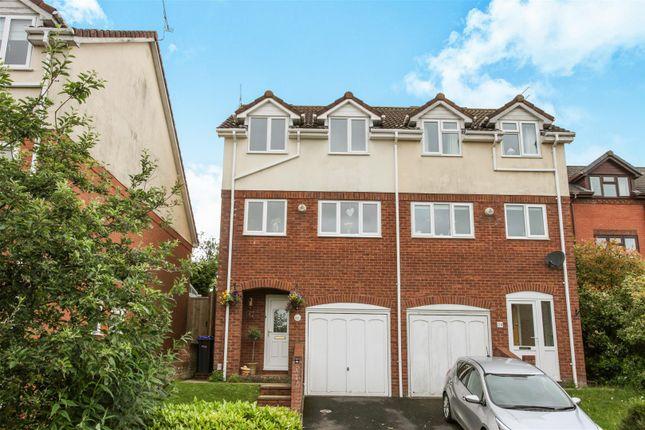 Thumbnail Semi-detached house for sale in Cygnet Drive, Durrington, Salisbury