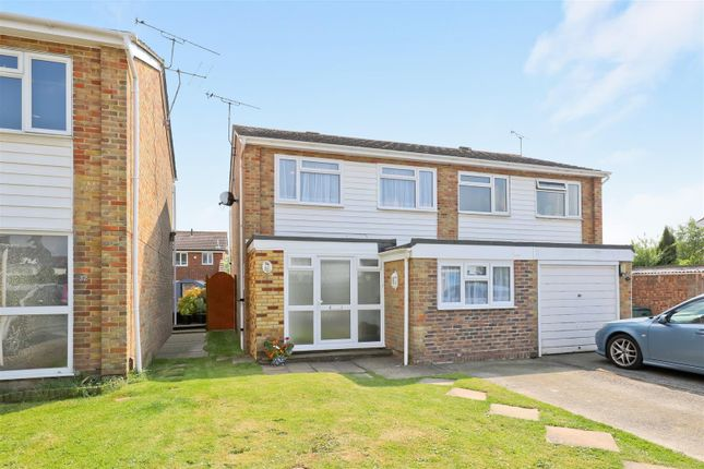 Thumbnail Semi-detached house for sale in Willow Crescent, Worthing