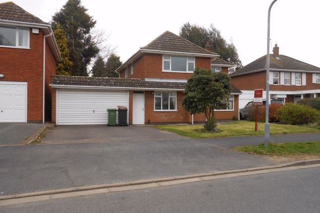 Thumbnail Detached house for sale in Milby Drive, St Nicolas Park, Nuneaton, Warwickshire