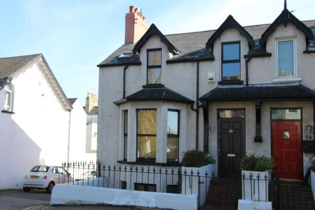 Thumbnail Terraced house for sale in Princetown Road, Bangor