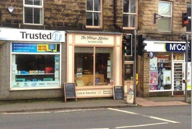 Thumbnail Restaurant/cafe for sale in Market Street, Whaley Bridge, High Peak