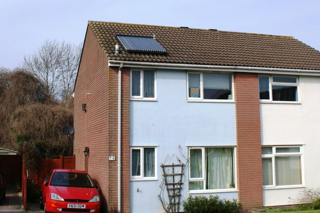 Thumbnail Semi-detached house to rent in Jones Close, Yatton