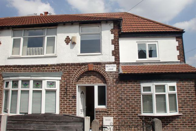 Thumbnail Semi-detached house to rent in Cotton Lane, Manchester