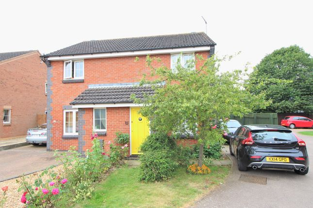 Thumbnail Semi-detached house for sale in Greenacre Drive, Rushden