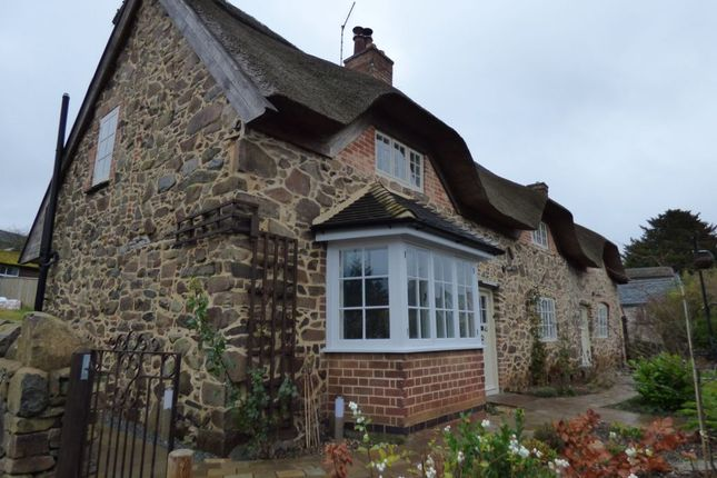 Thumbnail Cottage for sale in Main Street, Newtown Linford