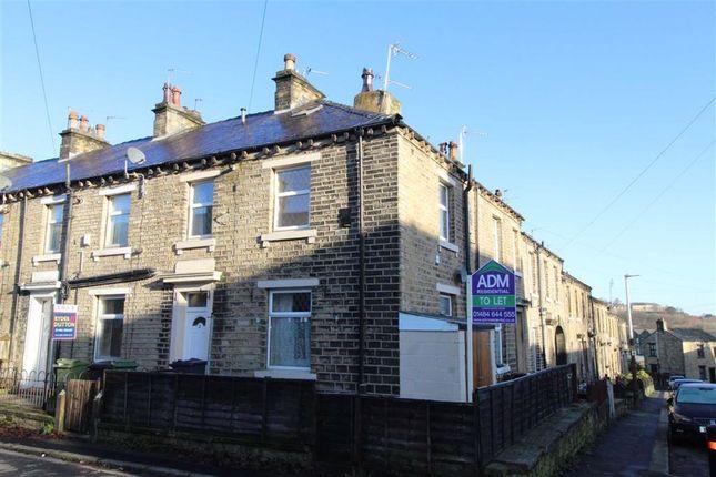 Thumbnail End terrace house to rent in Hoffman Street, Milnsbridge, Huddersfield