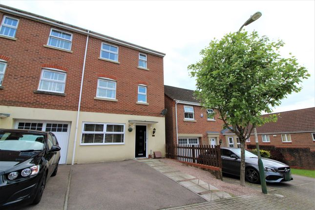 Thumbnail Semi-detached house for sale in Blacksmith Close, Oakdale, Blackwood