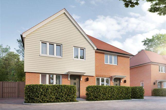 2 bed semi-detached house for sale in Old Orchard, Sandhurst, Cranbrook TN18
