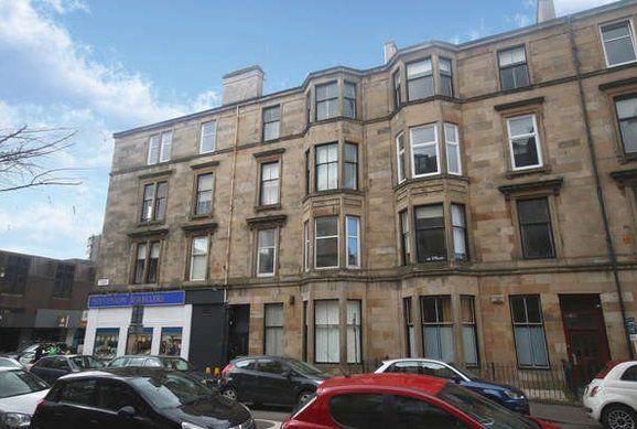Thumbnail Flat to rent in Ruthven Street, Hillhead, Glasgow