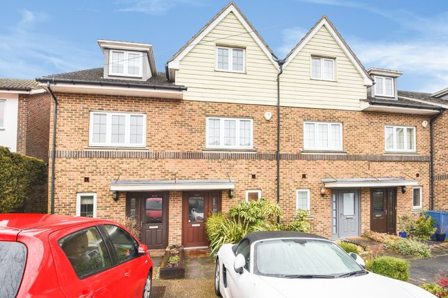 Thumbnail Town house to rent in Banstead Road, Caterham