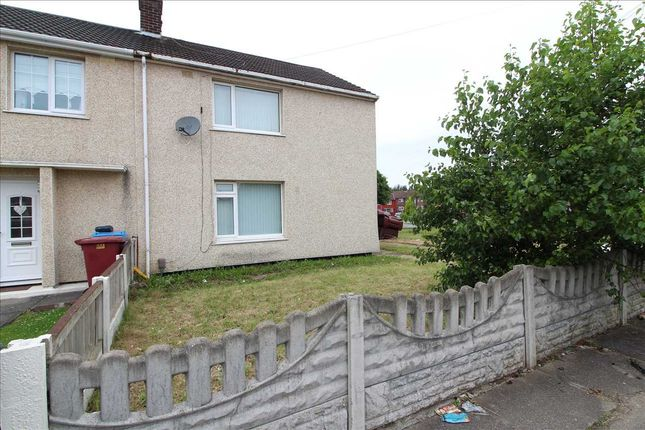 Thumbnail End terrace house to rent in Copthorne Road, Kirkby, Liverpool