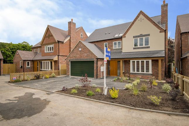 Thumbnail Detached house for sale in Holt Croft Close, Breaston, Derby