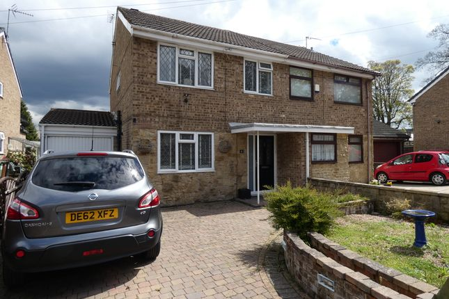 Thumbnail Semi-detached house for sale in Sunfield Gardens, Stanningley, Pudsey