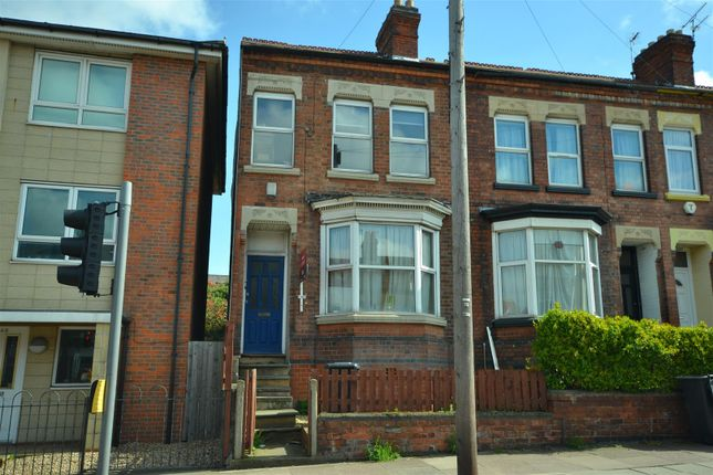Thumbnail Terraced house for sale in Welford Road, Knighton Fields, Leicester