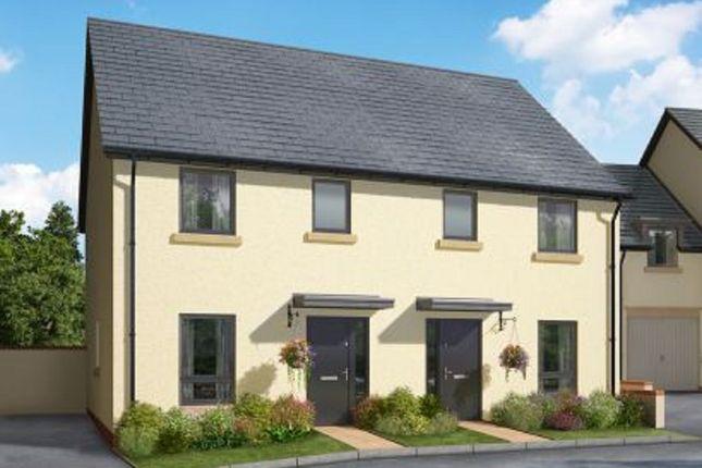 Thumbnail Semi-detached house for sale in Meldon Fields, Hameldown Road, Okehampton, Devon