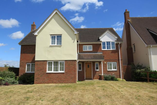 Thumbnail Detached house to rent in Parkview, Beck Row, Bury St. Edmunds