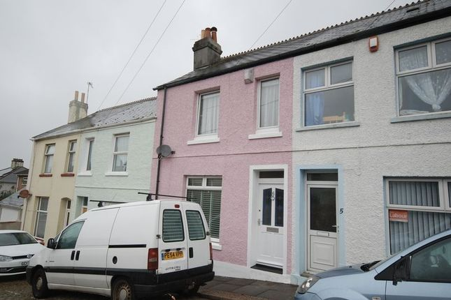 Thumbnail Terraced house for sale in College Park Place, Mutley, Plymouth