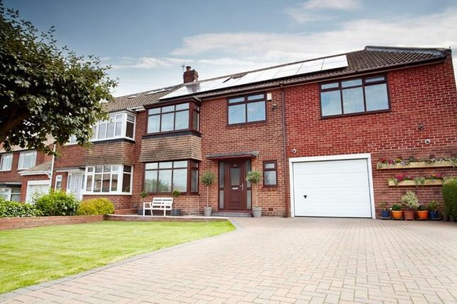 Thumbnail Semi-detached house for sale in Kennersdene, Tynemouth, North Shields