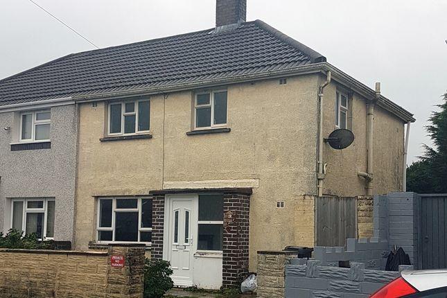 Semi-detached house for sale in Farmfield Avenue, Port Talbot