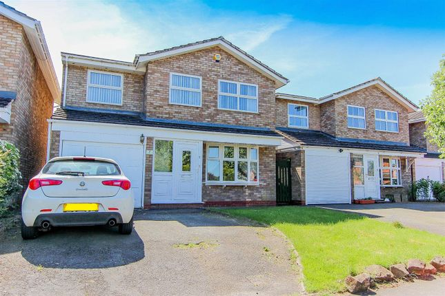 Thumbnail Detached house for sale in Larchfields, Wolston, Coventry