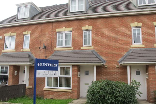 Thumbnail Terraced House To Rent In Maddren Way Middlesbrough