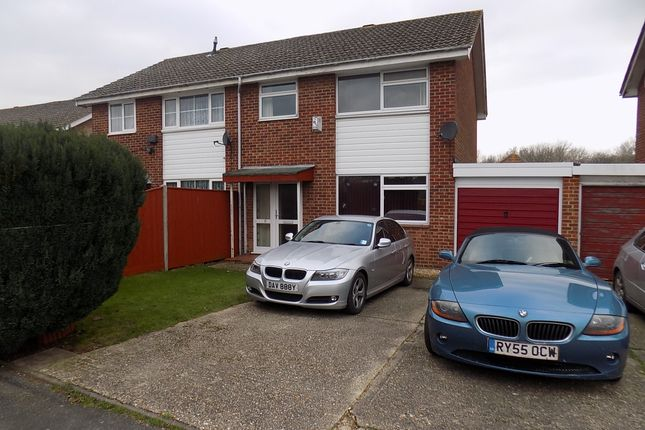 3 bed semi-detached house for sale in Foxcroft Drive, Holbury