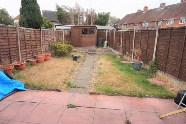 Garden of Lister Road, Walsall WS2