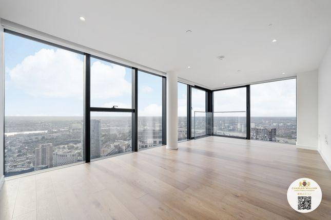 Thumbnail Flat to rent in 75 Marsh Wall, London