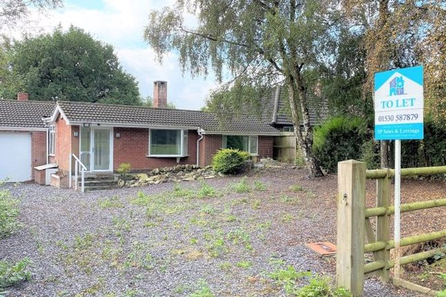 3 bed bungalow to rent in Markfield Lane, Markfield LE67