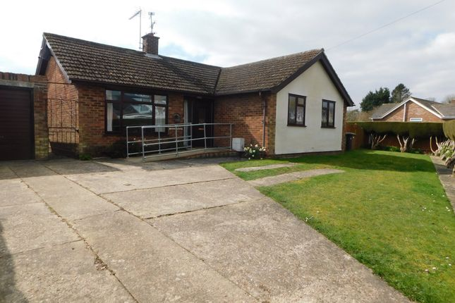 Thumbnail Detached bungalow for sale in Stearn Drive, Onehouse, Stowmarket