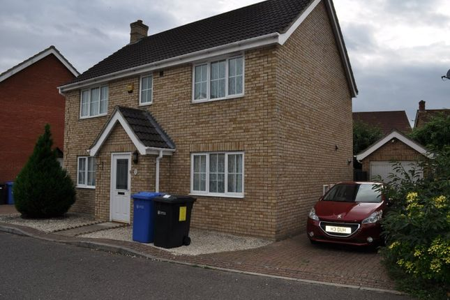 Thumbnail Shared accommodation to rent in Tizzock Close, Norwich