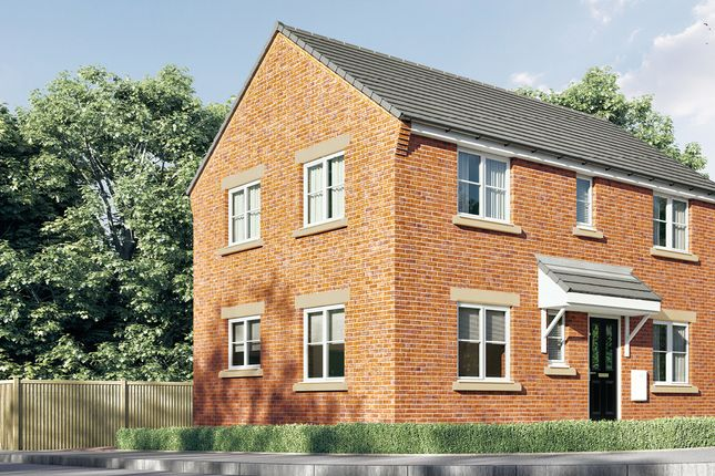 Thumbnail Detached house for sale in Saints Quarter, Steelhouse Lane, Wolverhampton, West Midlands