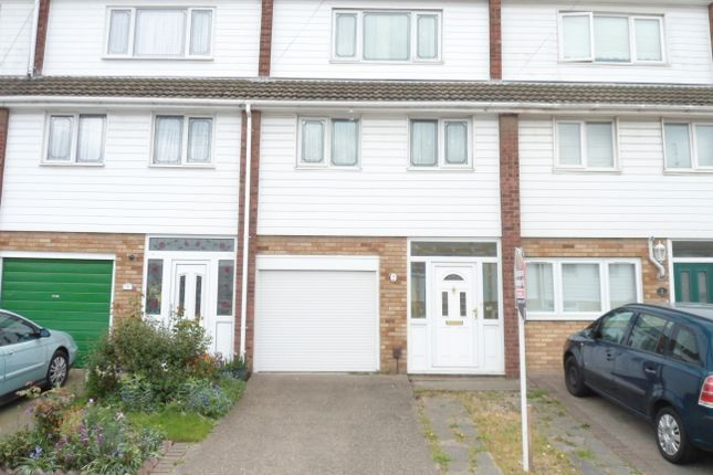 Thumbnail Town house to rent in Waid Close, Dartford
