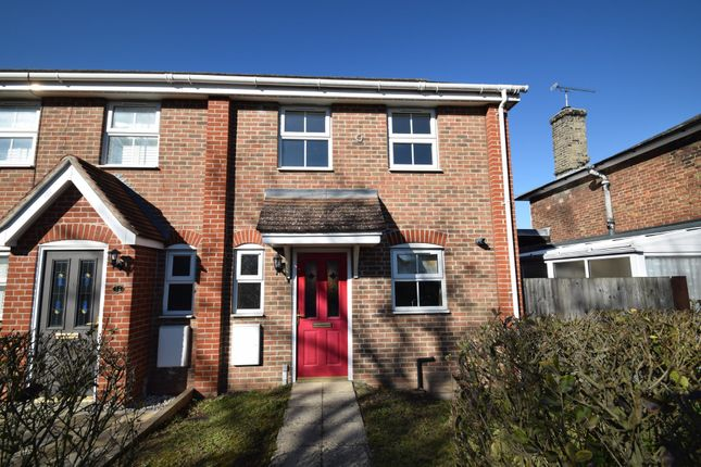Thumbnail End terrace house for sale in Bakers Mill, Elmswell, Bury St. Edmunds