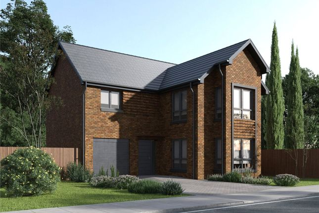 Thumbnail Detached house for sale in Plot 4 - Woodlea, Darnley, Glasgow