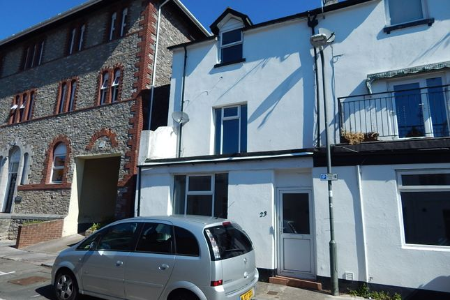 Thumbnail End terrace house to rent in Queen Street, Torquay