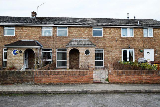 Thumbnail Terraced house for sale in Fanheulog, Talbot Green, Pontyclun